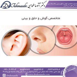 متخصص گوش و حلق و بینی